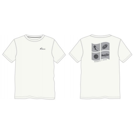 Tshirt Béarn sport blanc