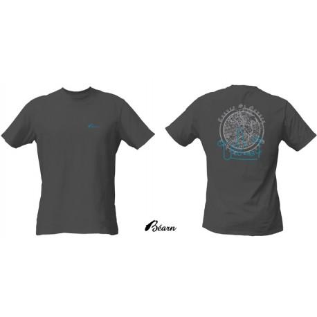 T-Shirt Bearn Febus gris